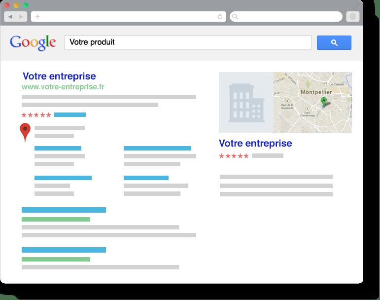 Visons ensemblela première place sur Google!